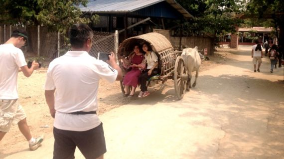 Experience in Mingun