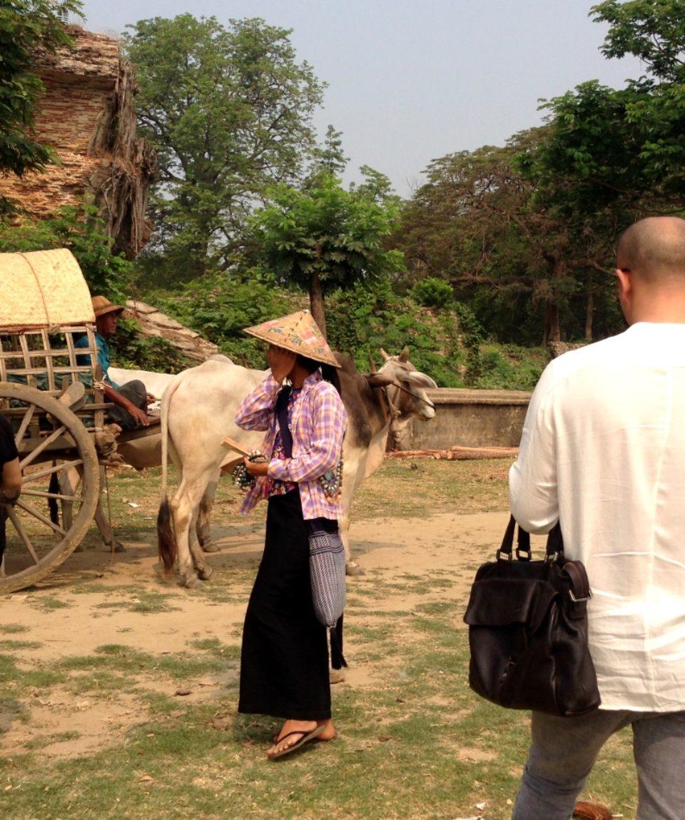 Mingun village